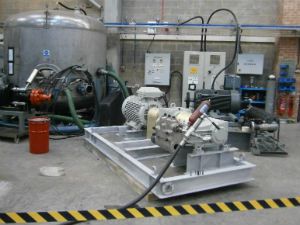 api 674 high pressure reciprocating pump test